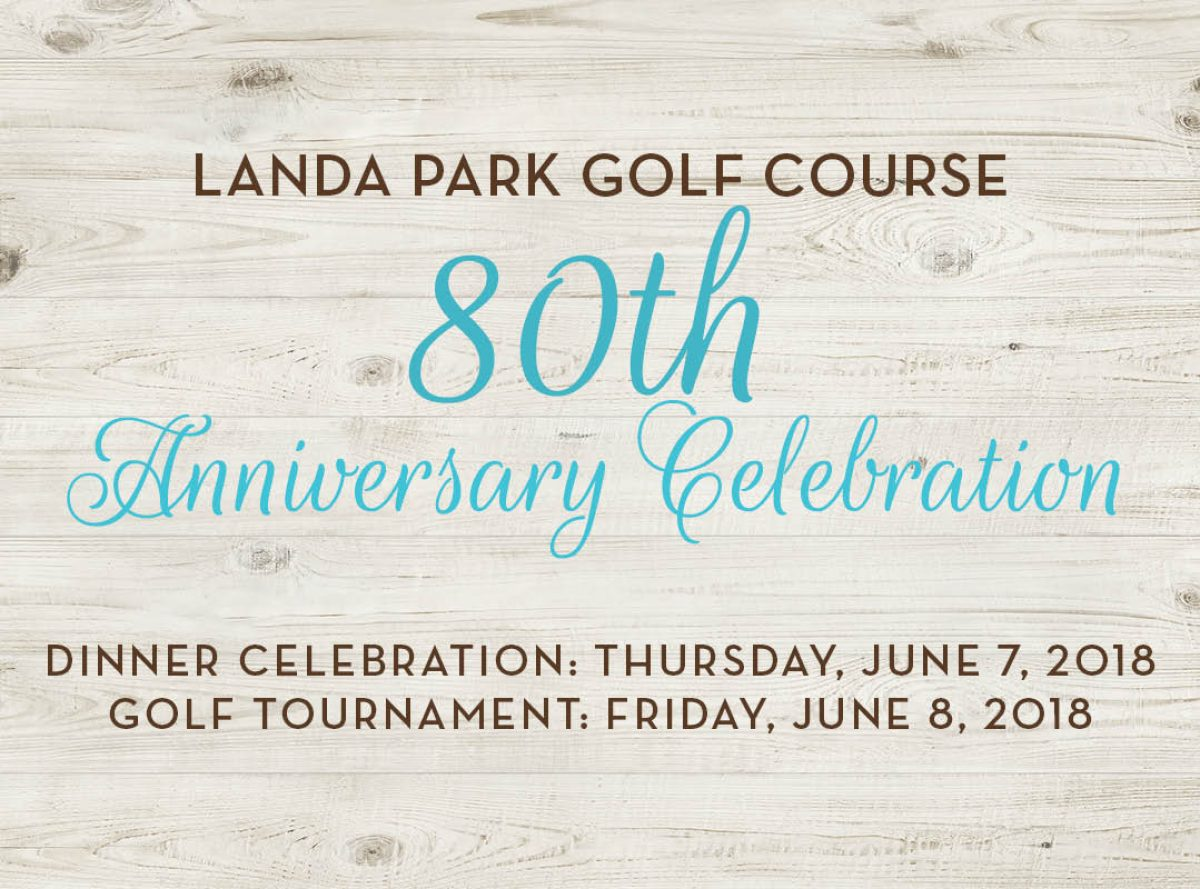 Landa Park Golf Course 80th Anniversary Celebration